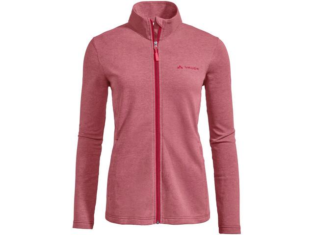VAUDE Valua Fleece Jacket Women cranberry